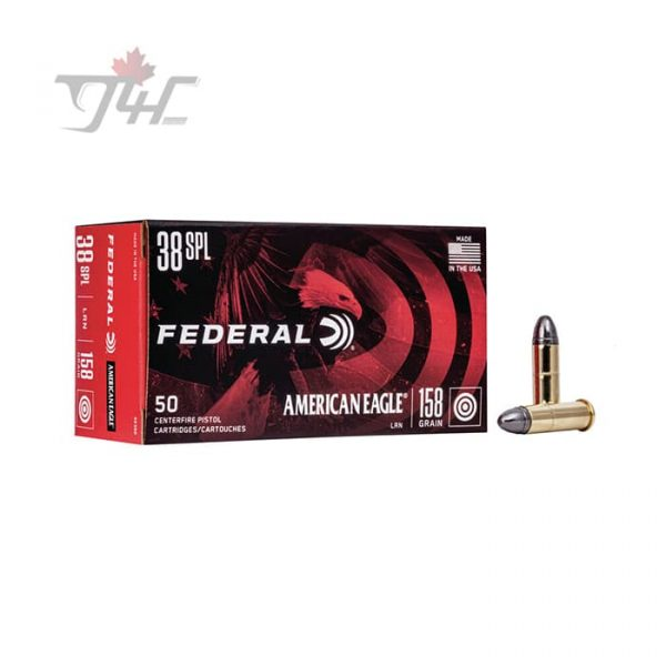 Federal American Eagle .38Special 158gr. LRN 50rds