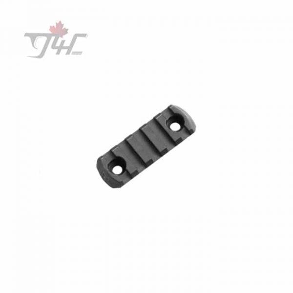 Magpul M-LOK Polymer Rail Section 5 Slots Black