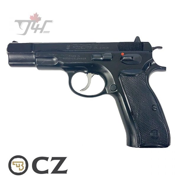 "CZ 75 Surplus 9mm 4.25"" BRL Black"