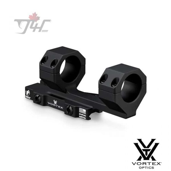 Vortex Precision Quick-release Cantilever Ring Mount