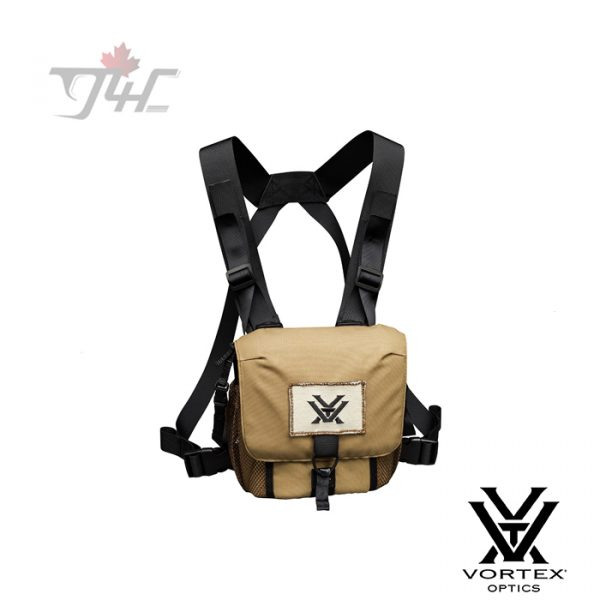 Vortex GlassPak Binocular Harness Coyote Brown