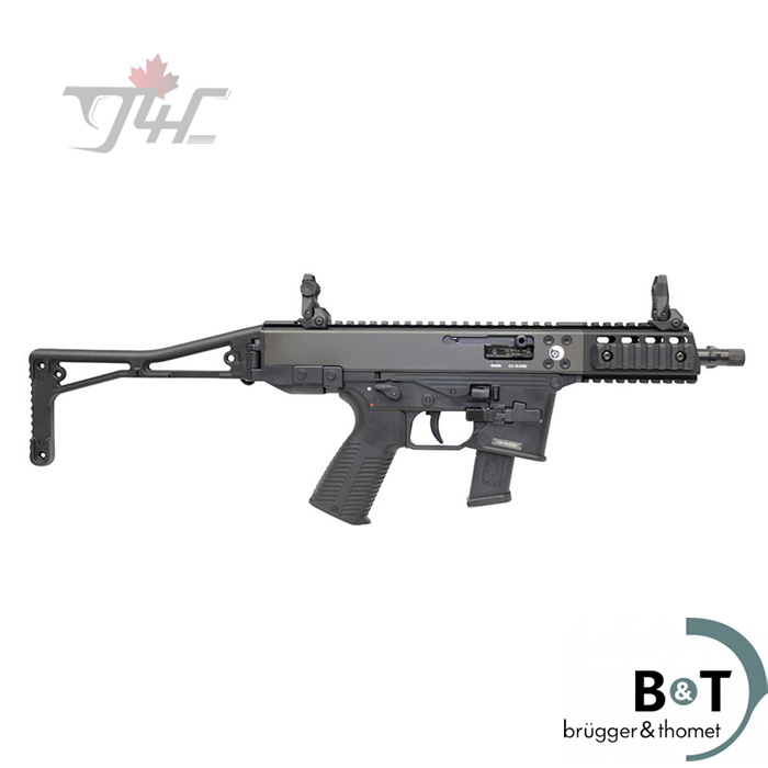 B&T AG GHM9-G SA Carbine 9mm 175mm BRL Black