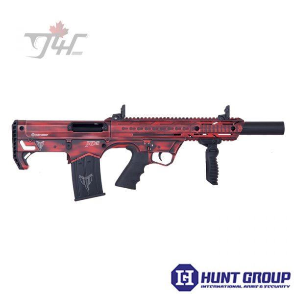 """Hunt Group FD12 12Gauge 20"""" BRL Distressed Red"""