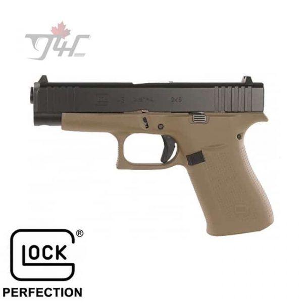 Glock 48 Fixed Sights 9mm 4.17 FDE-1