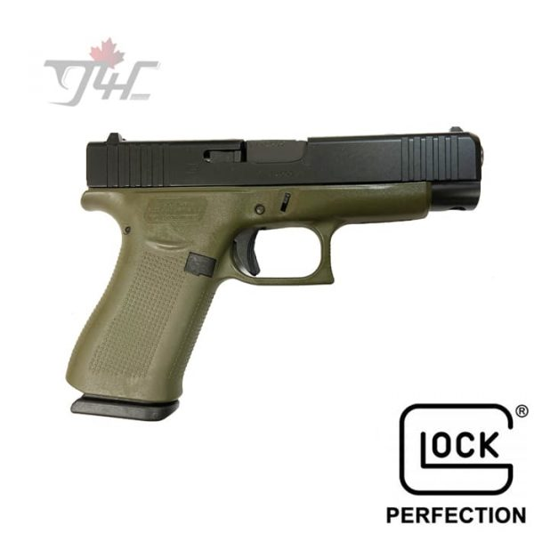 "Glock 48 Fixed Sights 9mm 4.17"" BRL OD Green"