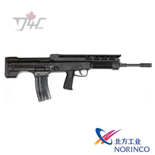 "Norinco Type 97 NSR-G3 5.56NATO 18.6"" BRL Black"