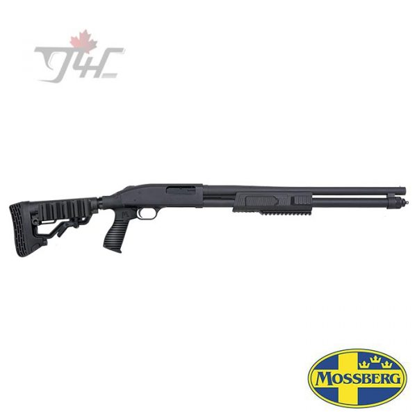 """Mossberg FLEX 590 Tactical 12 Gauge 20"""" Black"""