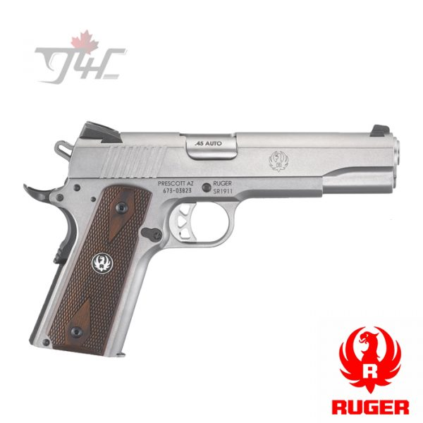 """Ruger SR1911 .45 ACP 5"""" Stainless"""