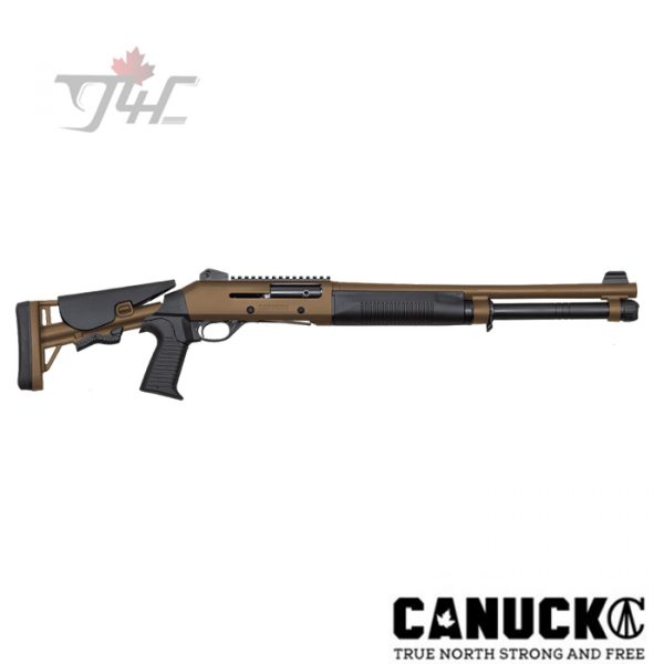 "Canuck Operator 12 Gauge 18.6"" Tan"