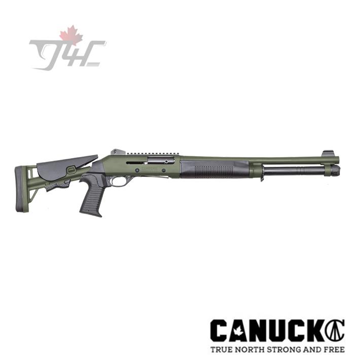 "Canuck Operator 12 Gauge 18.6"" OD Green"