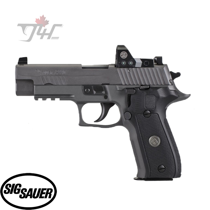 "Sig Sauer P226 Legion RXP 9mm 4.4"" Black"