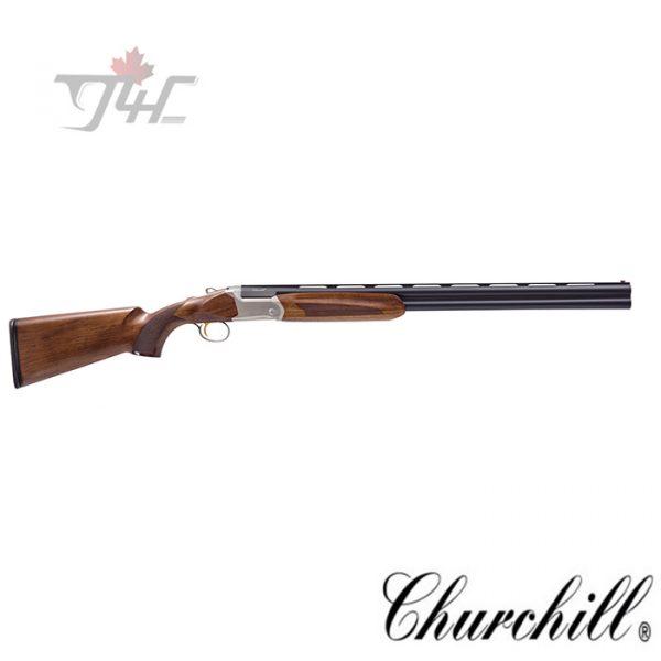 "Churchill 812 Over/Under Shotgun 12 Gauge 28"" Wood"